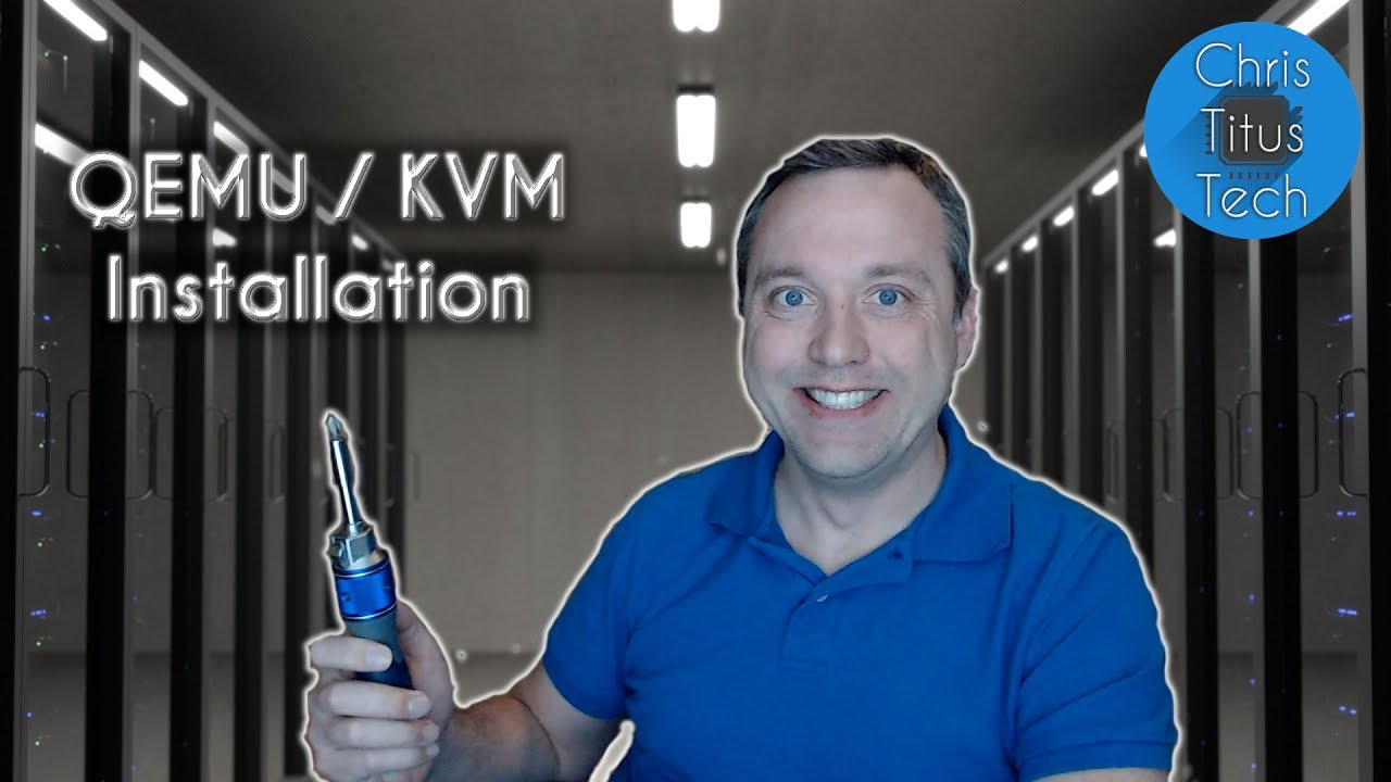 How To Install QEMU and Virt-Manager | Linux KVM - YouTube