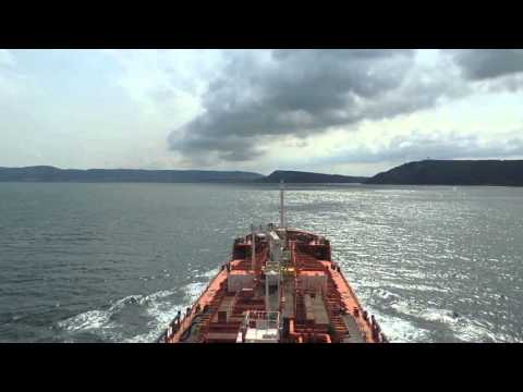 Dardanel Straits Vessel trafic SERVICE  MOST DANGEROUSE  turn