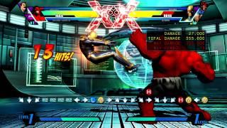 [UMVC3] Hulk + Lariat corner side switch after air throw