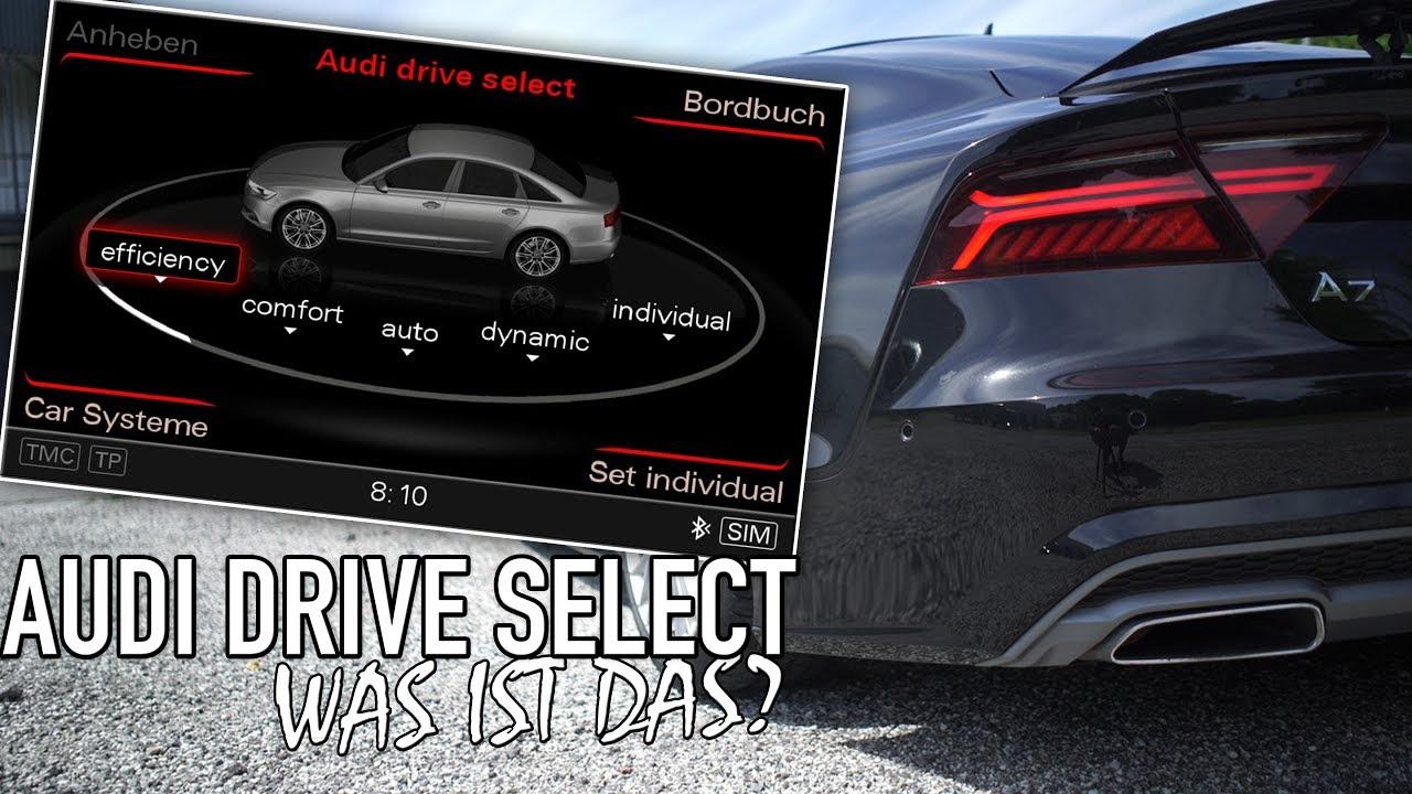 Audi Drive Select >> Audi Drive Select Deutsch Erklarung English Subtitles