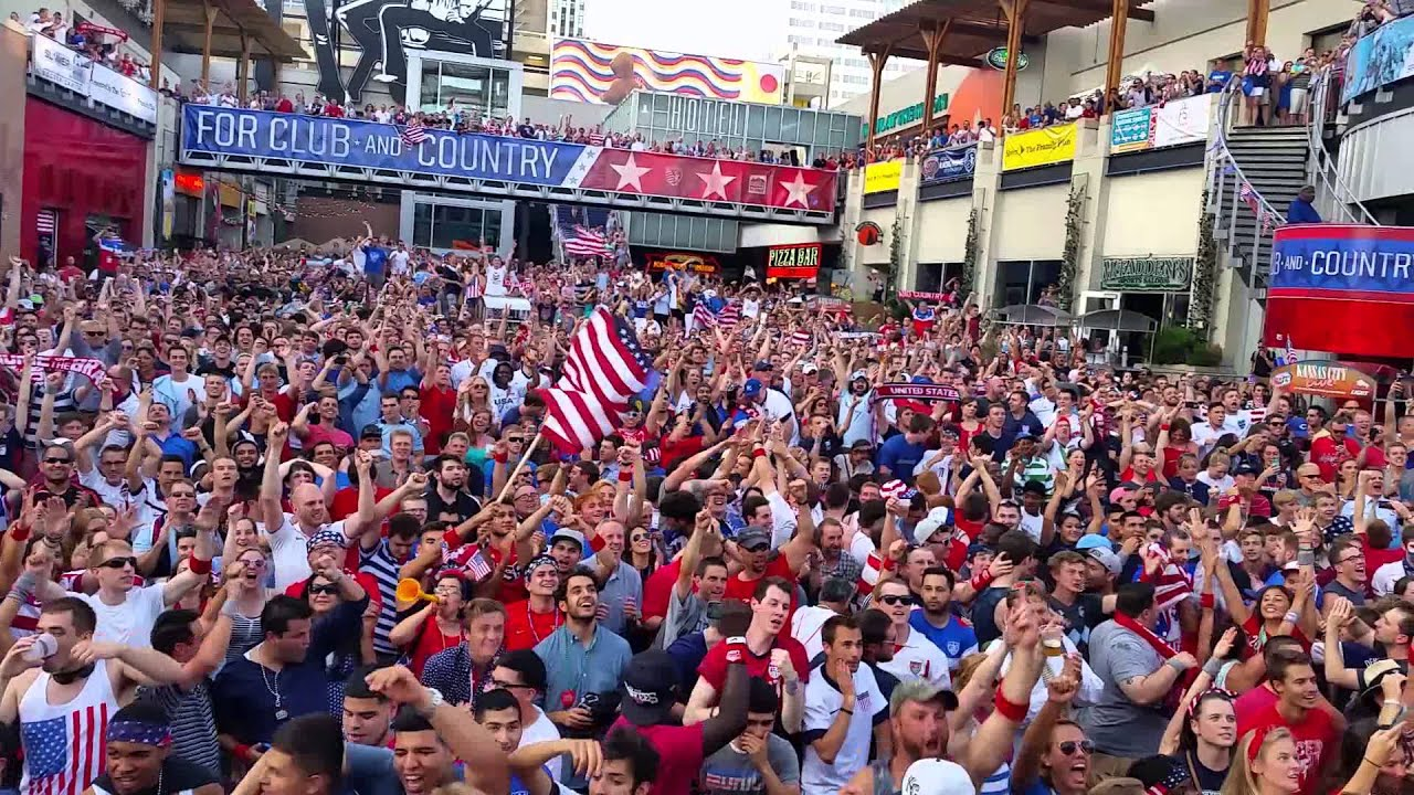 U.S. Soccer fans reaction to game-winning goal vs. Ghana