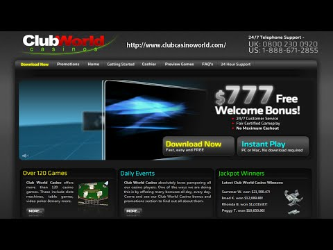 Club World Casino - #1 USA Online Casino!