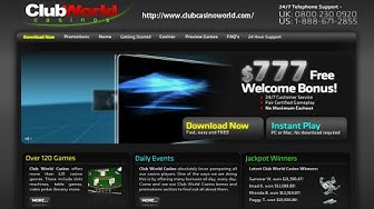 Club World Casino - #1 USA Online Casino!