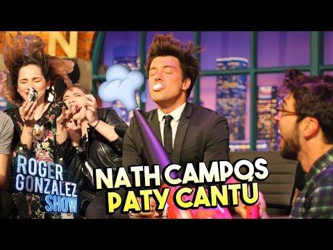 NATH CAMPOS Y PATY CANTÚ CASI NO LA CUENTAN - ROGER GONZALEZ SHOW