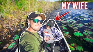 STRANDED while Fishing with My WIFE!!! (Had To Be Rescued)