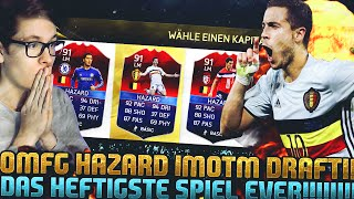 FIFA 16: HAZARD iMOTM BEAST FUT DRAFT! (DEUTSCH) - FIFA 16 ULTIMATE TEAM - KRANKSTES SPIEL EVER!