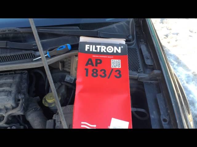 Замена воздушного фильтра Polo Sedan