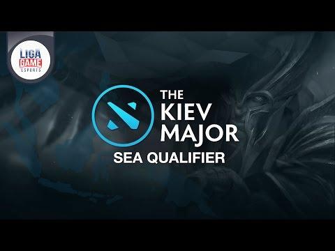 DOTA 2: Rex Regum Qeon (RRQ) @KIEV Major SEA Qualifier Day 1