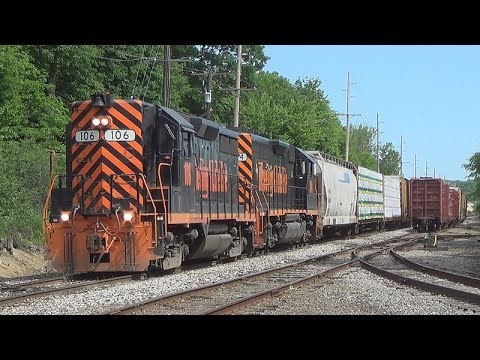 Switching Operations on the Wheeling & Lake Erie Railroad