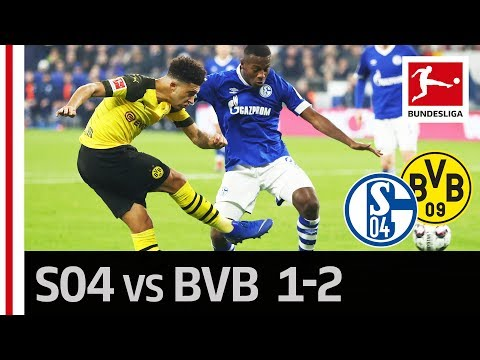 Schalke 04 vs. Borussia Dortmund I 1-2 I Highlights I Jadon Sancho Becomes The Revierderby Hero