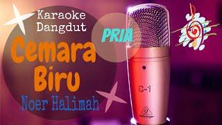Download Karaoke Cemara Biru - Noer Halimah Nada Pria (Karaoke Dangdut Lirik Tanpa Vocal)