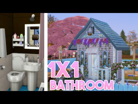 Creating a 1x1 Tile Bathroom and 2x3 Tiny Home - Twitch Highlights!