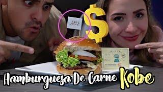 PREPARAMOS LA HAMBURGUESA MAS CARA DEL MUNDO *2000 pesos de CARNE KOBE* / #AmorEterno