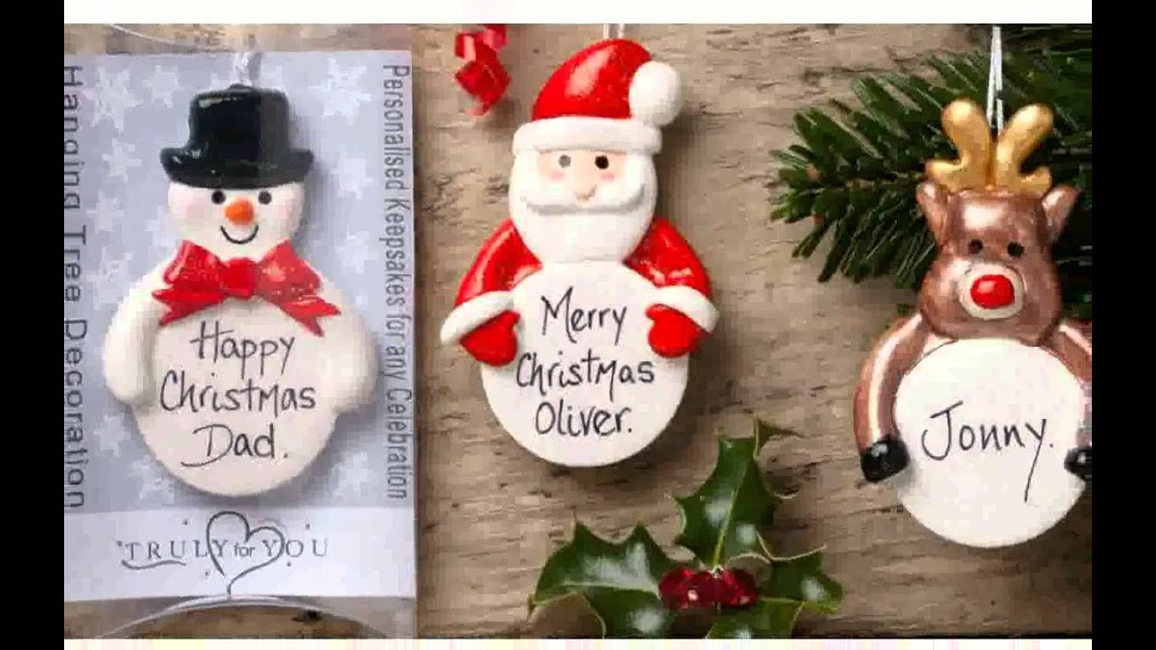 personalised christmas tree decorations nice design