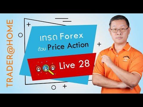 """Forex สอน เทรด : 261 - Live 28 : เทรด Forex ด้วย """"Price Action"""""""
