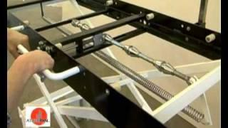 manual elevator deck oven loader atrepan srl