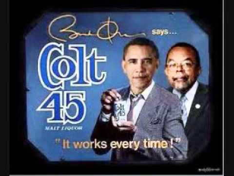 Obama  Colt45