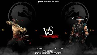 TOURNAMENT - Mortal Kombat Defender Earth