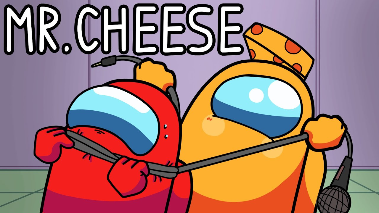 """""""No One Suspects Mr. Cheese"""" Among Us Song (Animated Music Video)"""