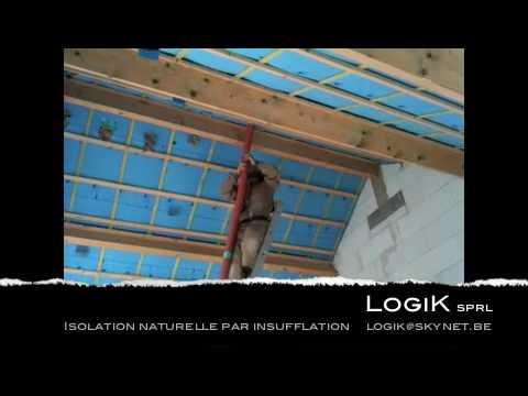 logik isolation naturelle par insufflation youtube. Black Bedroom Furniture Sets. Home Design Ideas