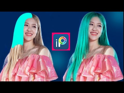 HOW TO CHANGE HAIR COLOR  IN IBISPAINT X/how To Color The Hair In Ibispaint X/ibispaint X Tutorial
