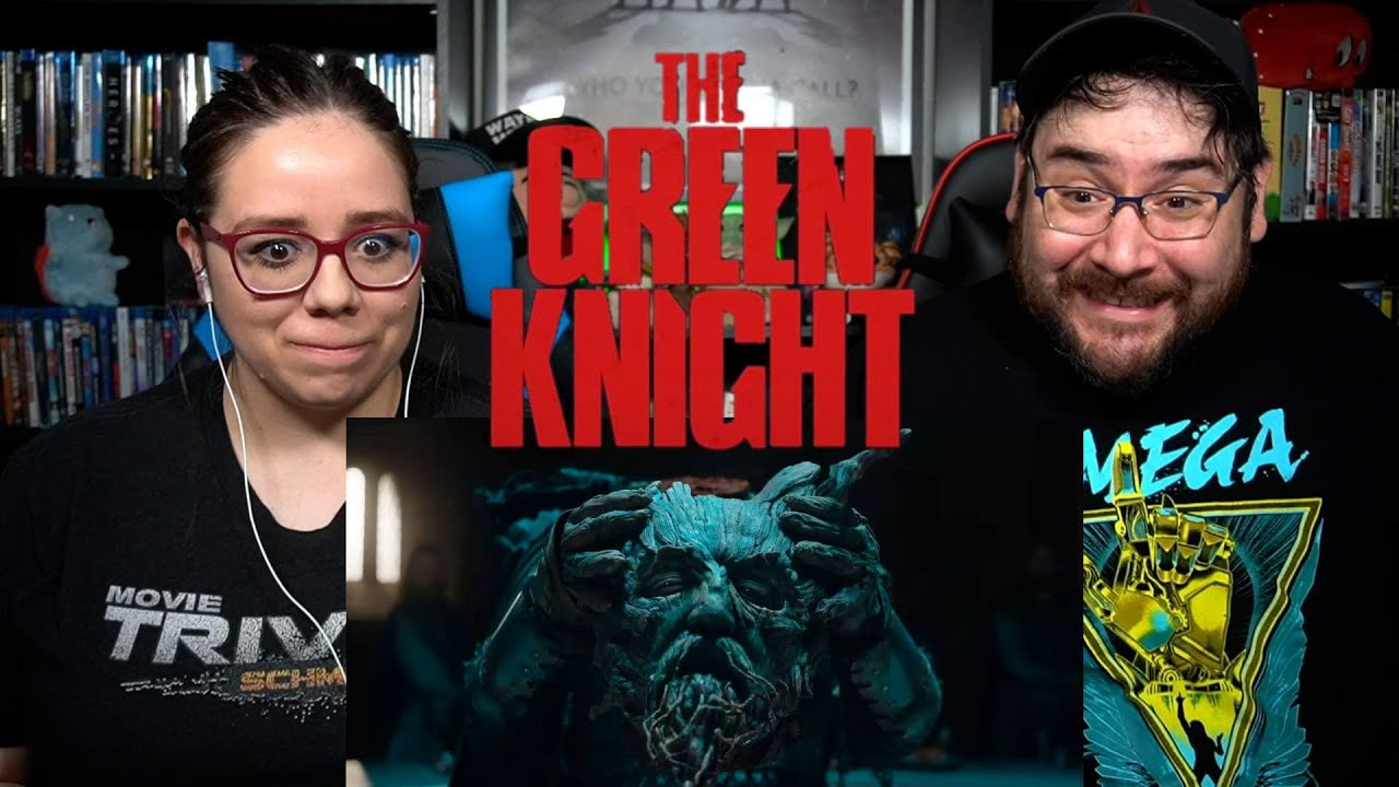 A24's The Green Knight - Official Trailer Reaction / Review