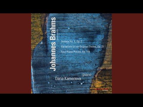 Piano Sonata No. 2 In F-Sharp Minor, Op. 2: I. Allegro Non Troppo, Ma Energico