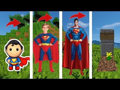 SUPERMAN'IN HAYATI - Minecraft #1
