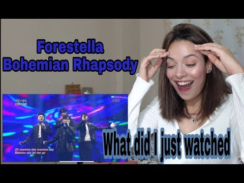 FORESTELLA - Bohemian Rhapsody /불후의명곡2- 포레스텔라 - / VOCALIST REACTION