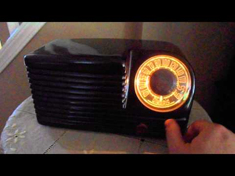 1946 Olympic AM Radio (Electronically Restored!)