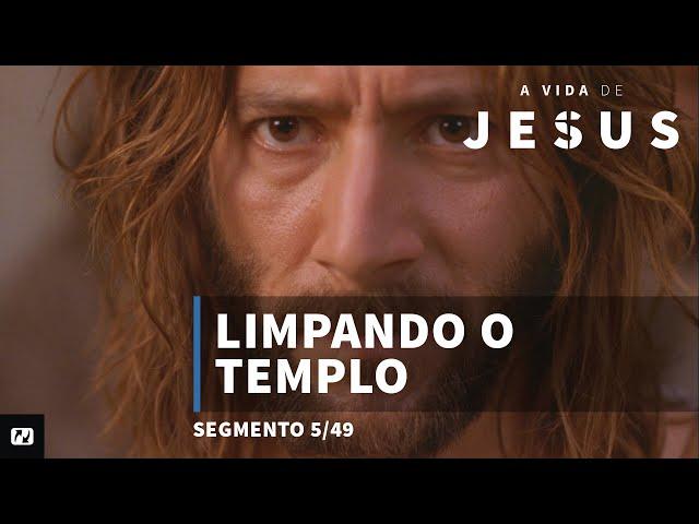 Limpando o templo | João  2:13 - 25 | A vida de Jesus | Portugues | 5/49