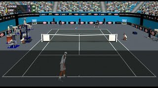 Federer vs Isner | Indians Wells Finale 2012 | Full Ace Tennis Simulator 2012 (Simulation)