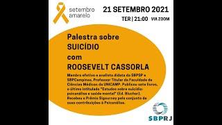 Palestra sobre Suicídio - 21/09/2021
