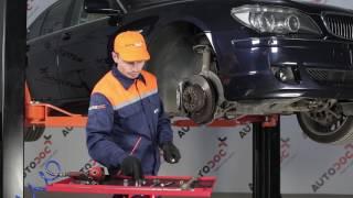 Stabilisatorkoppelstang vervangen BMW 7 SERIES: werkplaatshandboek