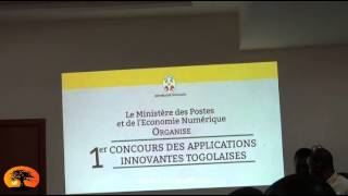 Mme Cina LAWSON lance le 1er concours des applications innovante togolaises (APPSTOGO).