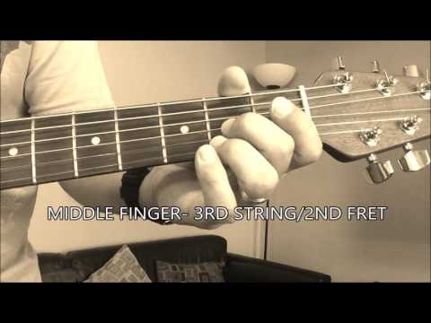 The F Chord How To Play The F Chord On Guitar Youtube