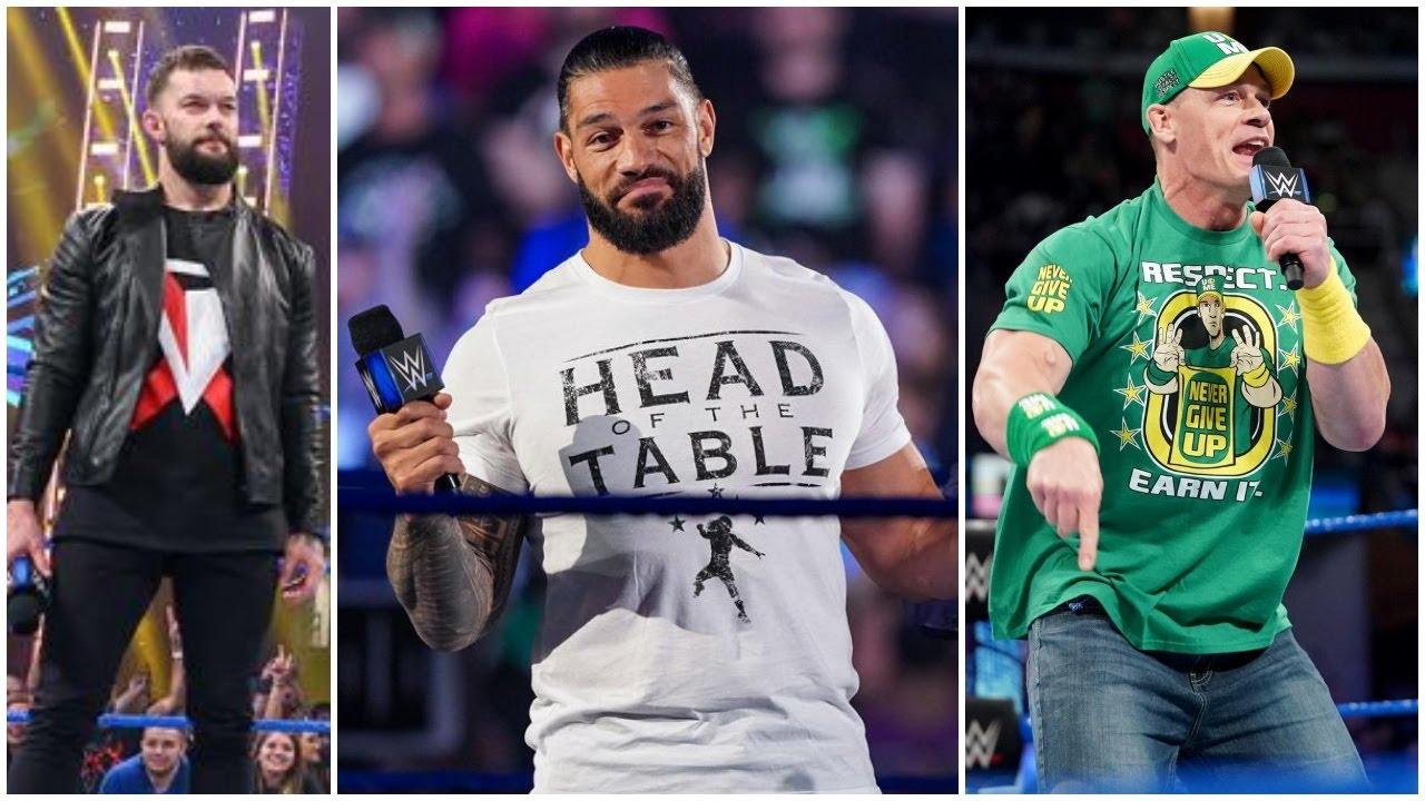 Roman Reigns Cancel John Cena Summerslam 2021 Match & Accepts Finn Balor Universal Title Challenge  