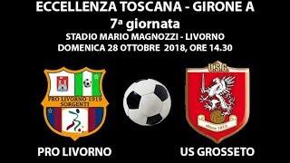 Pro Livorno Sorgenti-Us Grosseto 0 a 1 - PRIMO TEMPO