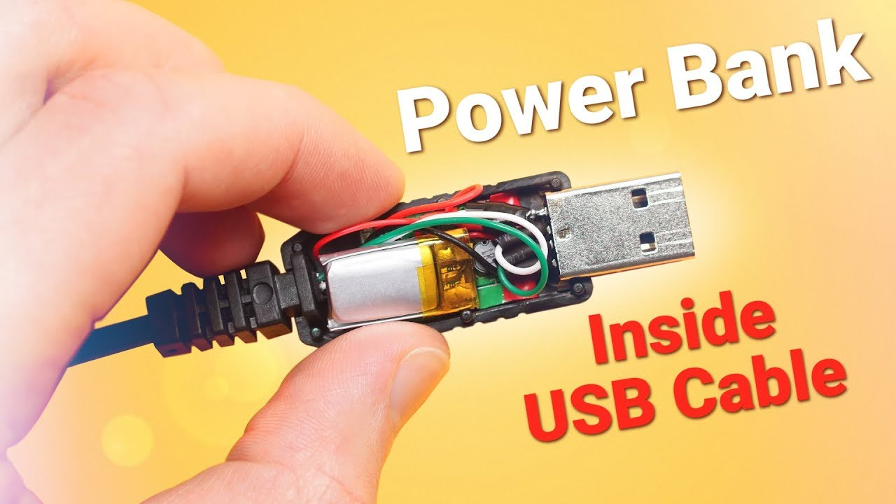 power bank inside a usb cable 10 steps (with pictures  how to wire a usb cable for power #12