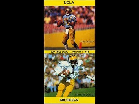 1983 Rose Bowl #5 UCLA vs #19 Michigan
