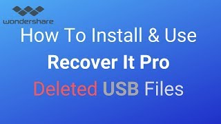 Recover It PRO | How To Recover Deleted Files on a USB stick