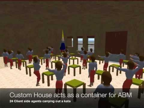 Agent-Based Modeling in Virtual Worlds