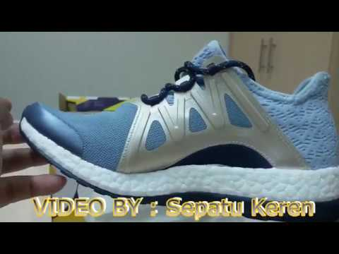 81cc7982b Unboxing Review sneakers Adidas PureBOOST Xpose Clima BB1740 - YouTube