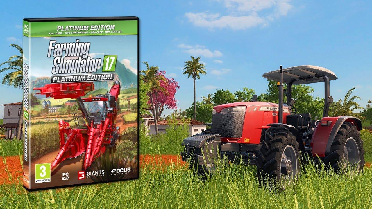 Farming Simulator 17 Edycja Platynowa Bizon Otwierane Drzwi I