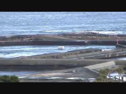 Tsunami (3) at Taito Port, Chiba, Japan
