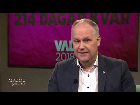 Jonas Sjöstedt om stormen inom Vänsterpartiet - Malou Efter tio (TV4)