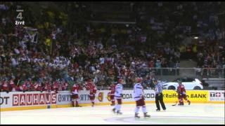 MS 2011 Česko Vs. Rusko - Roman Červenka gól na 4:3 (Utkání o bronz)