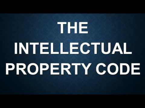 The Intellectual Property Code: Part I