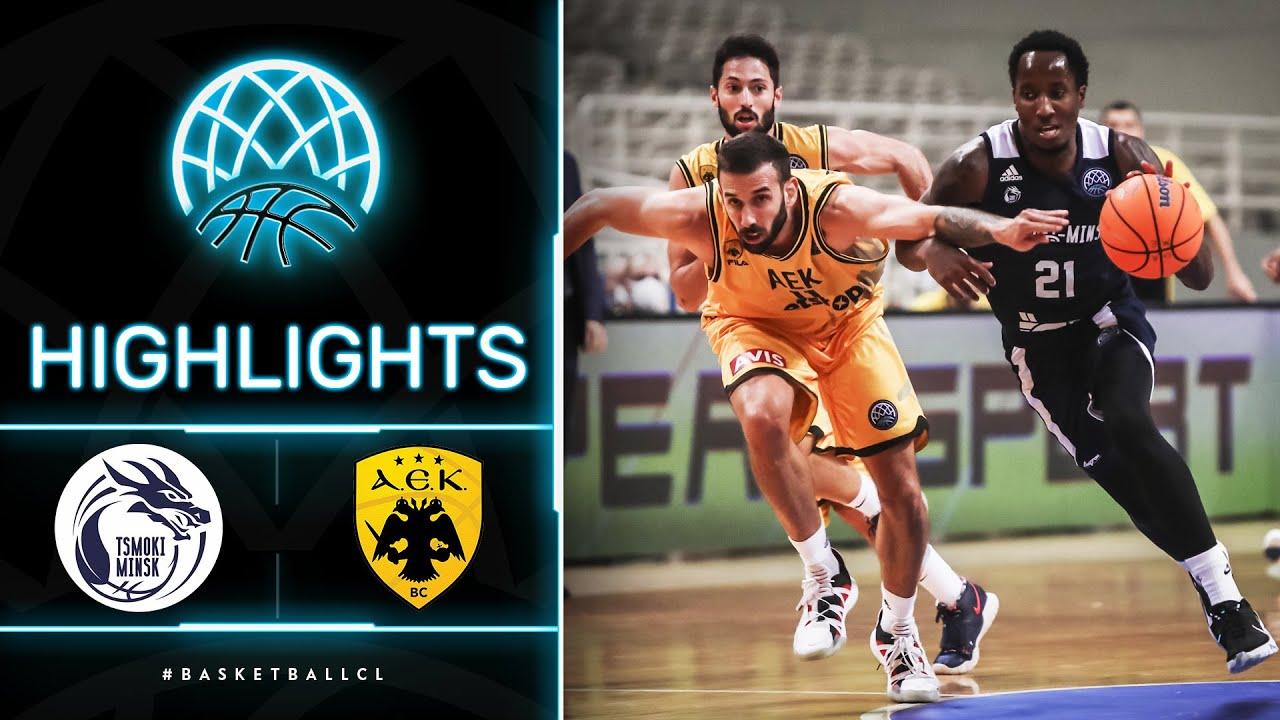 Tsmoki-Minsk v AEK - Highlights