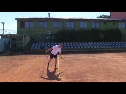 Hrvoje Plukavec - College Tennis Recruiting Video - Fall 2017